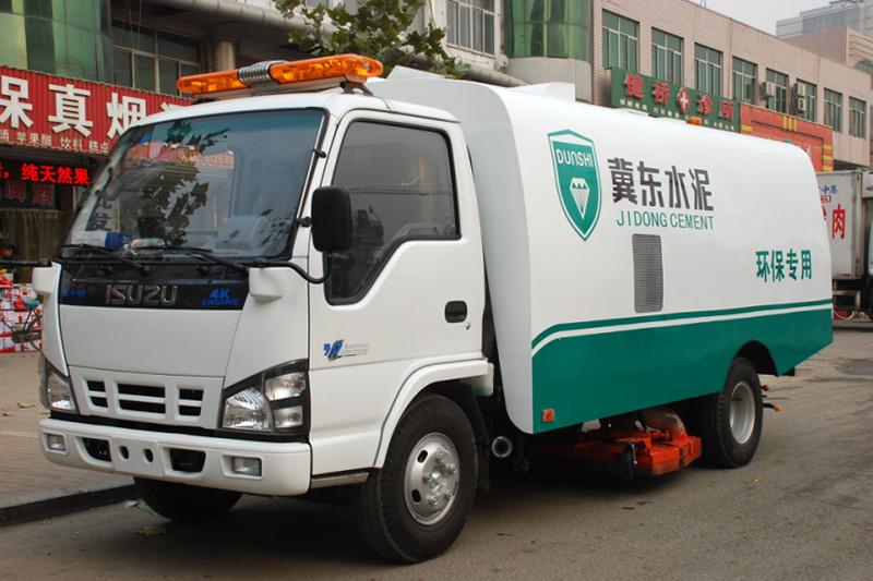 铝电水泥企业专用吸尘车